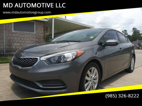 2016 Kia Forte for sale at MD AUTOMOTIVE LLC in Slidell LA