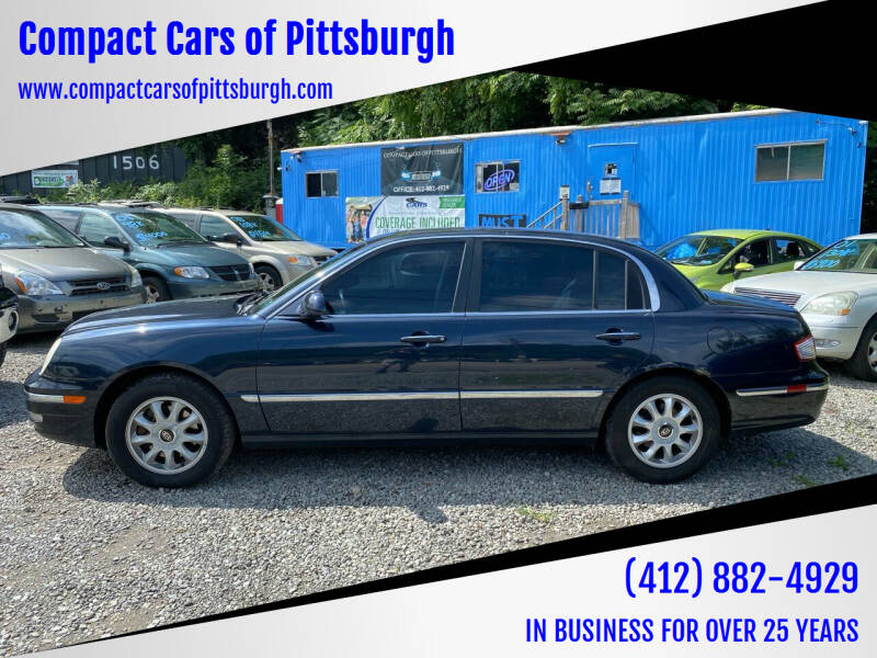 2005 Kia Amanti for sale at Compact Cars of Pittsburgh in Pittsburgh PA