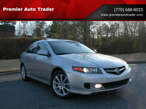 2007 Acura TSX for sale at Premier Auto Trader in Alpharetta GA