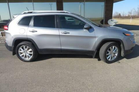 2014 Jeep Cherokee for sale at DAKOTA CHRYSLER CENTER in Wahpeton ND