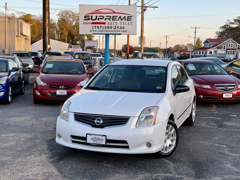 2011 Nissan Sentra for sale at Supreme Auto Sales in Chesapeake VA