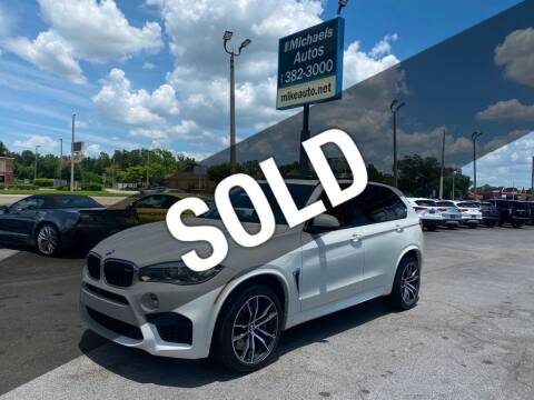 2016 BMW X5 M for sale at Michaels Autos in Orlando FL