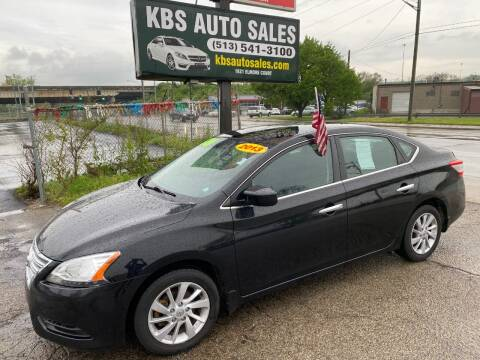 2013 Nissan Sentra for sale at KBS Auto Sales in Cincinnati OH