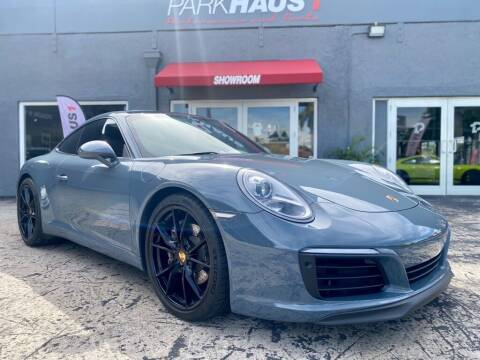2017 Porsche 911 for sale at PARKHAUS1 in Miami FL