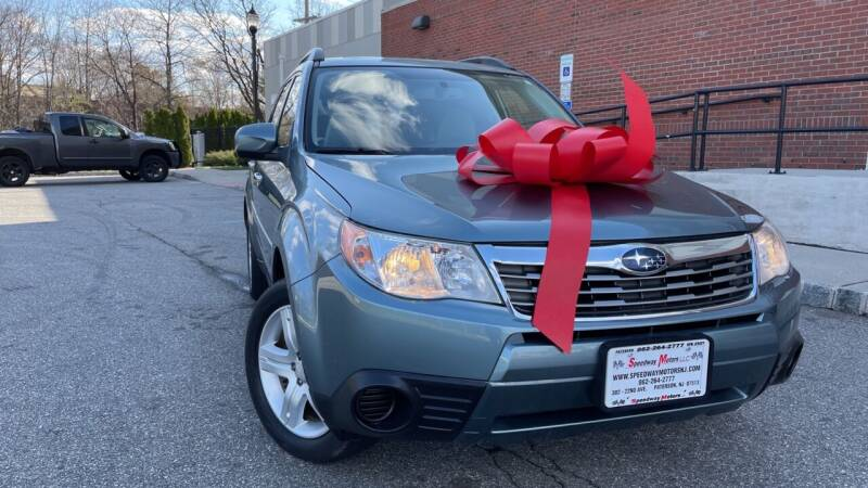2010 Subaru Forester for sale at Speedway Motors in Paterson NJ