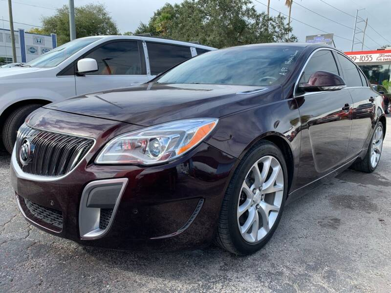 2017 Buick Regal for sale at Always Approved Autos in Tampa FL