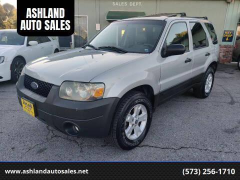 2005 Ford Escape for sale at ASHLAND AUTO SALES in Columbia MO