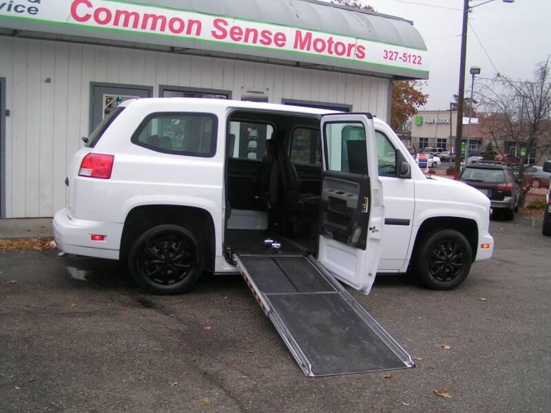 2012 vpg mv-1 for sale at Common Sense Motors in Spokane WA