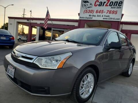 2010 Ford Focus for sale at CarZone in Marysville CA