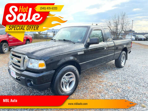 2008 Ford Ranger for sale at MBL Auto Woodford in Woodford VA