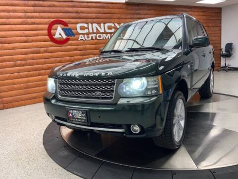 2010 Land Rover Range Rover for sale at Dixie Motors in Fairfield OH