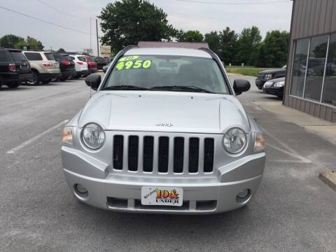 2010 Jeep Compass for sale at KEITH JORDAN'S 10 & UNDER in Lima OH