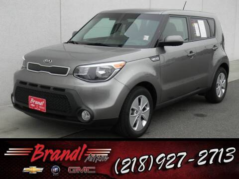 2015 Kia Soul for sale at Brandl GM in Aitkin MN