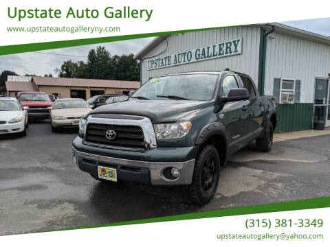 2008 Toyota Tundra for sale at Upstate Auto Gallery in Westmoreland NY