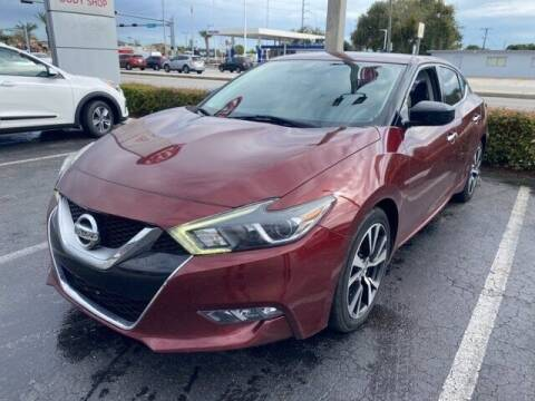 2016 Nissan Maxima for sale at JumboAutoGroup.com in Hollywood FL