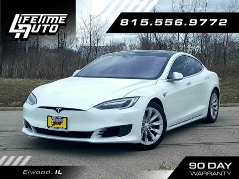 2016 Tesla Model S for sale at Lifetime Auto in Elwood IL