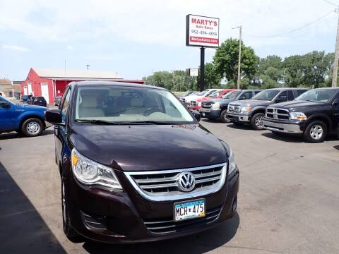 2010 Volkswagen Routan for sale at Marty's Auto Sales in Savage MN