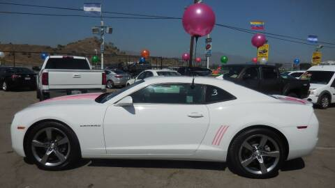 2012 Chevrolet Camaro for sale at Luxor Motors Inc in Pacoima CA
