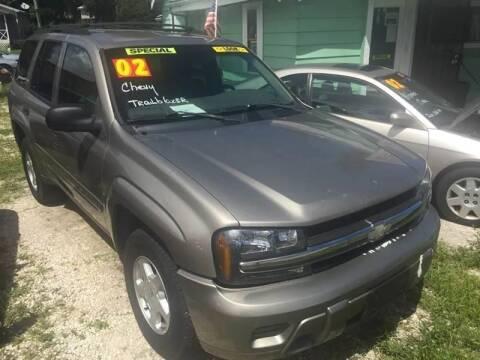 2002 Chevrolet TrailBlazer for sale at Castagna Auto Sales LLC in Saint Augustine FL