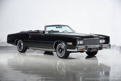 1976 Cadillac Eldorado for sale at Motorcar Classics in Farmingdale NY