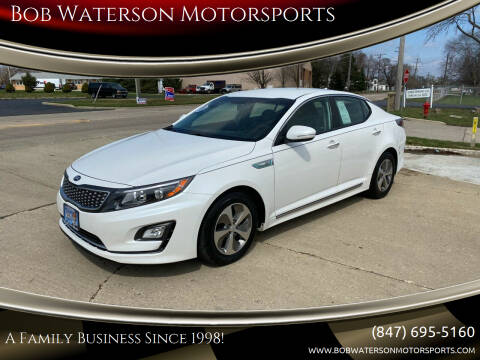 2014 Kia Optima Hybrid for sale at Bob Waterson Motorsports in South Elgin IL