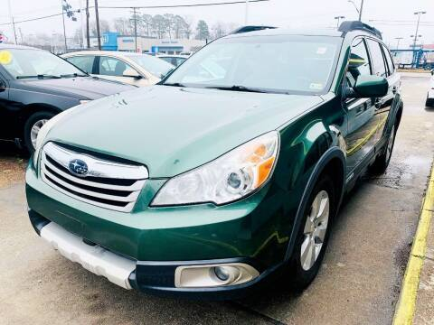 2011 Subaru Outback for sale at Auto Space LLC in Norfolk VA