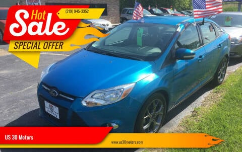 2014 Ford Focus for sale at US 30 Motors in Merrillville IN