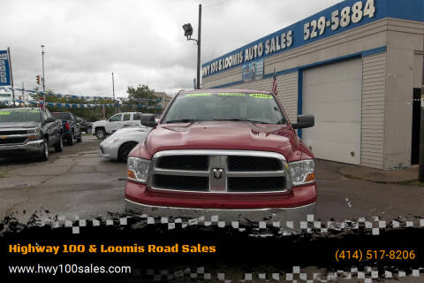 2009 Dodge Ram Pickup 1500 for sale at Highway 100 & Loomis Road Sales in Franklin WI