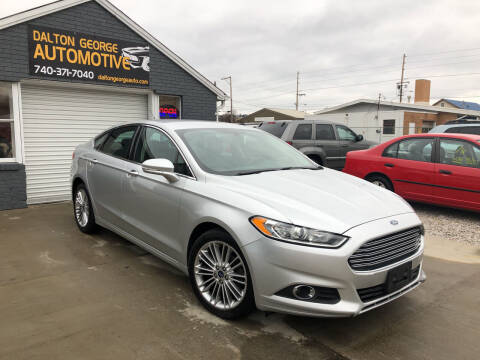 2014 Ford Fusion for sale at Dalton George Automotive in Marietta OH