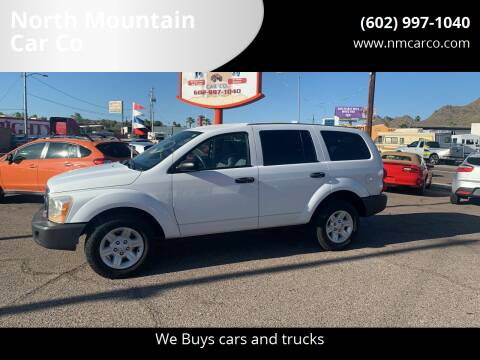 2004 Dodge Durango for sale at North Mountain Car Co in Phoenix AZ