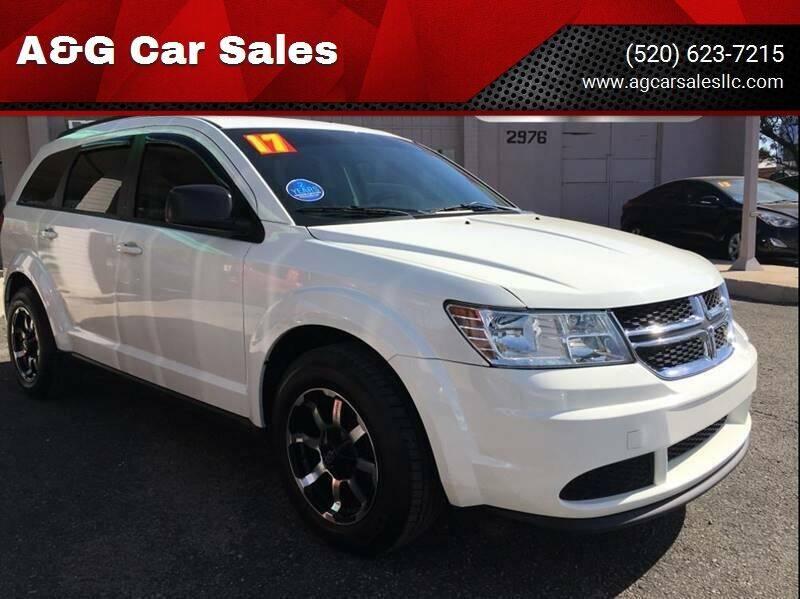 2017 Dodge Journey for sale at A&G Car Sales  LLC in Tucson AZ