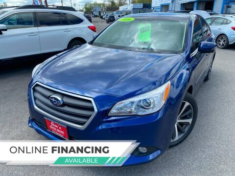 2016 Subaru Legacy for sale at Bridge Road Auto in Salisbury MA