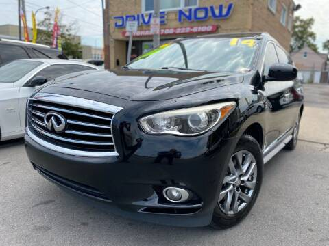 2014 Infiniti QX60 for sale at Drive Now Autohaus in Cicero IL
