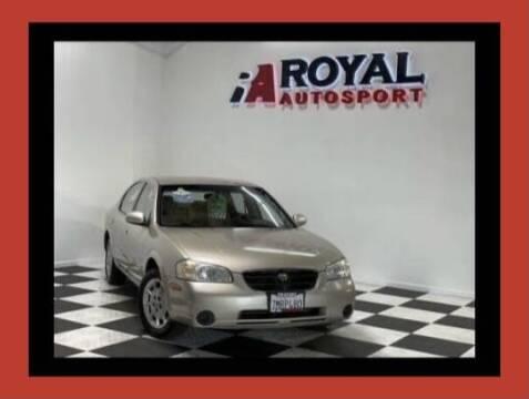 2001 Nissan Maxima for sale at Royal AutoSport in Sacramento CA