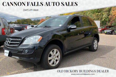 2006 Mercedes-Benz M-Class for sale at Cannon Falls Auto Sales in Cannon Falls MN