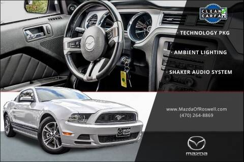 2014 Ford Mustang for sale at Mazda Of Roswell in Roswell GA