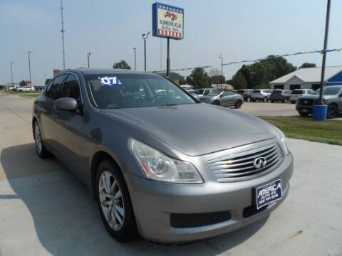 2007 Infiniti G35 for sale at America Auto Inc in South Sioux City NE