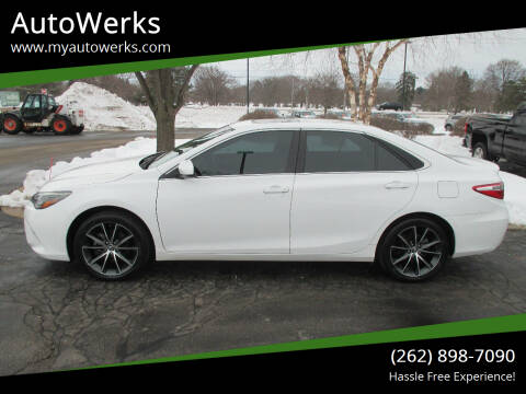 2015 Toyota Camry for sale at AutoWerks in Sturtevant WI