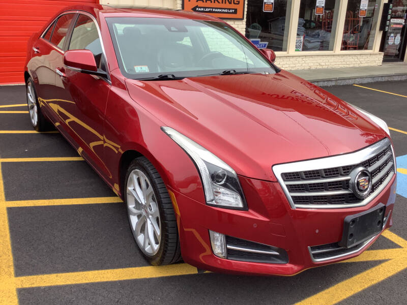 2014 Cadillac ATS for sale at Motuzas Automotive Inc. in Upton MA