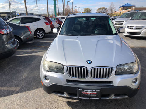2008 BMW X3 for sale at Washington Auto Group in Waukegan IL