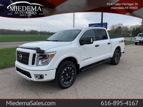 2018 Nissan Titan for sale at Miedema Auto Sales in Allendale MI