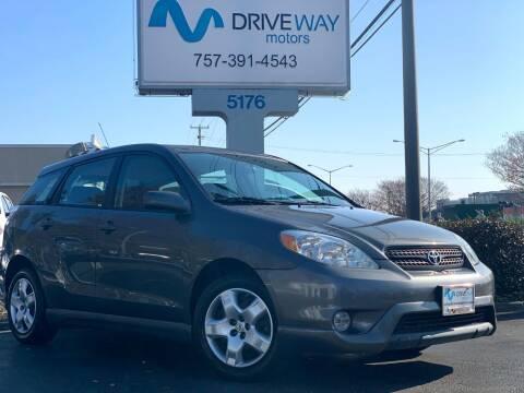 2008 Toyota Matrix for sale at Driveway Motors in Virginia Beach VA
