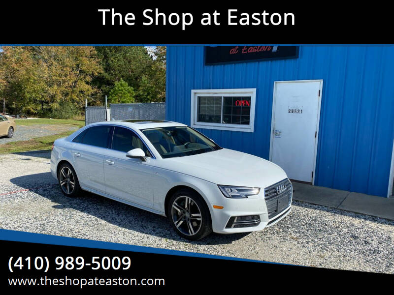 2017 Audi A4 for sale at The Shop at Easton in Easton MD