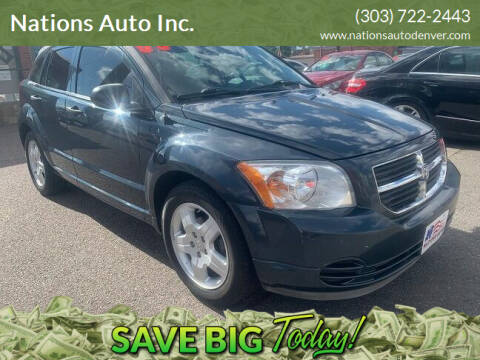 2008 Dodge Caliber for sale at Nations Auto Inc. in Denver CO