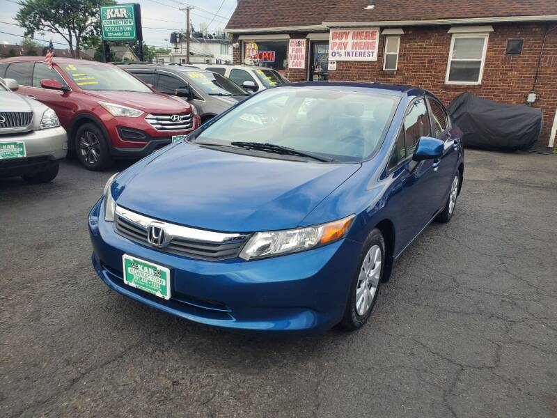 2012 Honda Civic for sale at Kar Connection in Little Ferry NJ