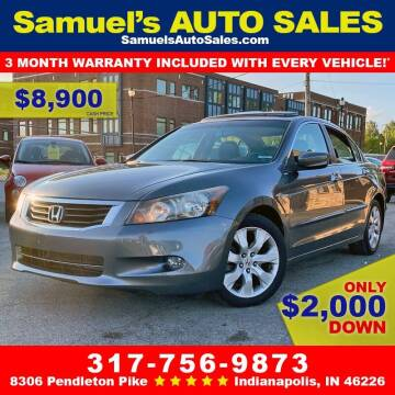 2009 Honda Accord for sale at Samuel's Auto Sales in Indianapolis IN