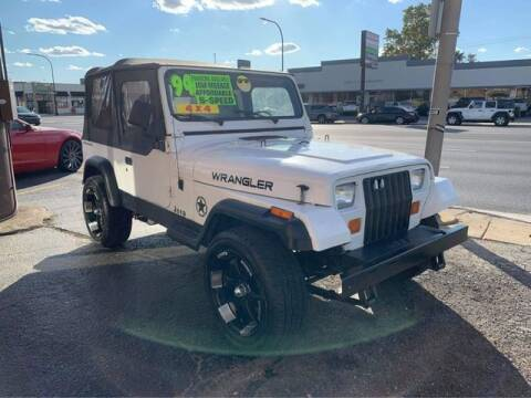 1994 Jeep Wrangler for sale at JBA Auto Sales Inc in Stone Park IL