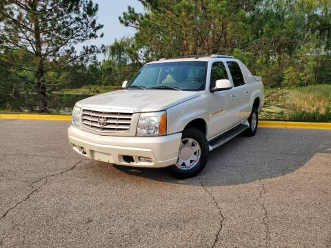 2003 Cadillac Escalade EXT for sale at Excalibur Auto Sales in Palatine IL