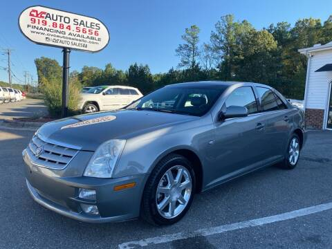 2005 Cadillac STS for sale at CVC AUTO SALES in Durham NC