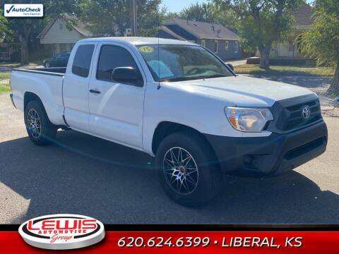 2015 Toyota Tacoma for sale at Lewis Chevrolet Buick of Liberal in Liberal KS